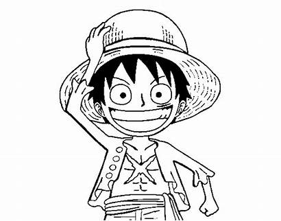 Luffy Coloring Piece Pages Diaries Vampire Para