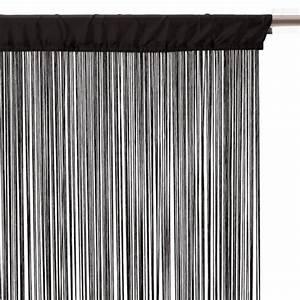 Rideau Fil Pas Cher : rideau fil noir pas cher ~ Teatrodelosmanantiales.com Idées de Décoration