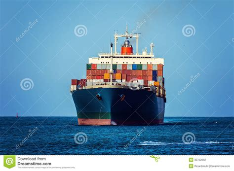 container ship stock photography image