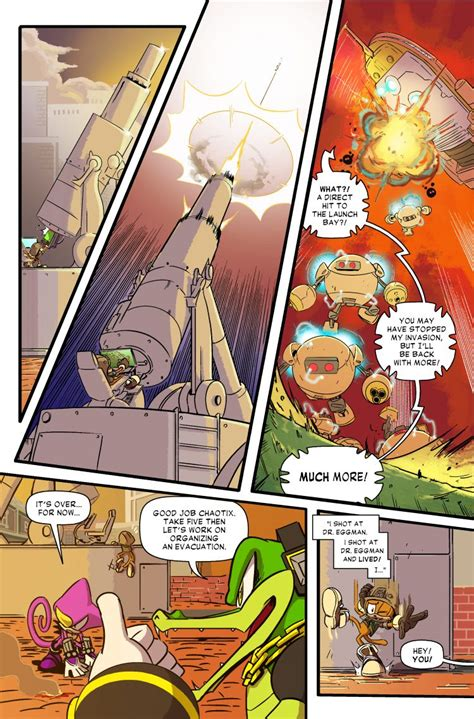 sonic forces  part  digital comic debuts today