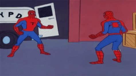 Spiderman Meme Gif - spiderman gifs tenor