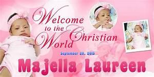 Baptismal Invitation Template Free Download Majellas Christening Template Psd Free Psd Design