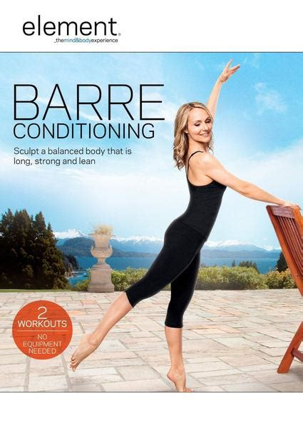 barre dvd workout conditioning element dvds pilates ballet amazon yoga exercise isometrics standing workouts