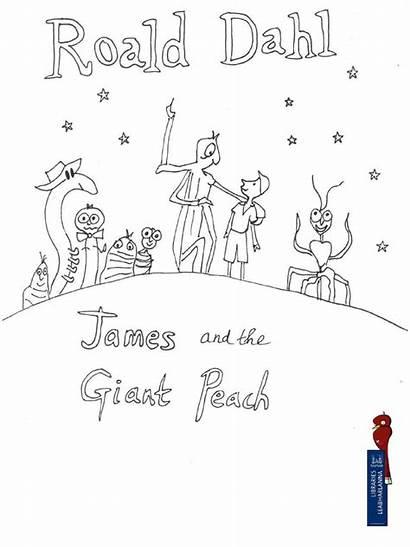 Peach Giant James Colouring