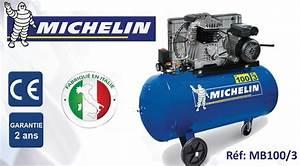 Compresseur Michelin 50 L : michelin mb100 3 compresseur air outillage ~ Melissatoandfro.com Idées de Décoration