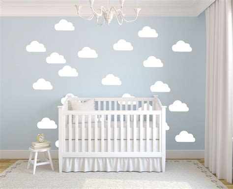 buy pcsset white clouds wall stickers