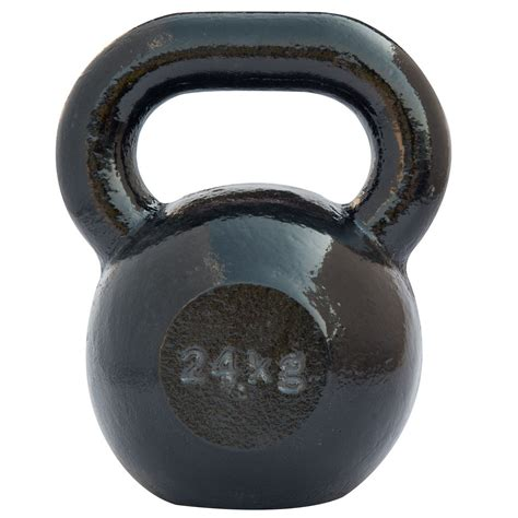 kettlebell iron cast dkn 24kg kettlebells weight