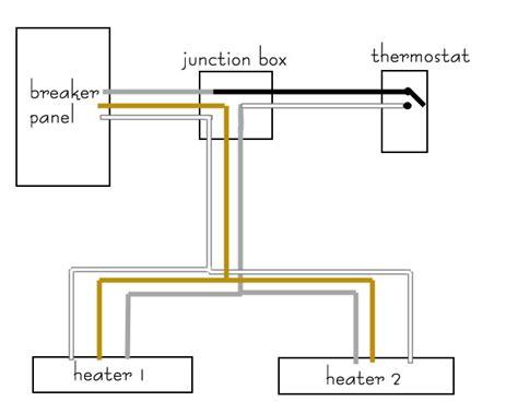 wiring electric baseboard heaters diagrams 42 wiring