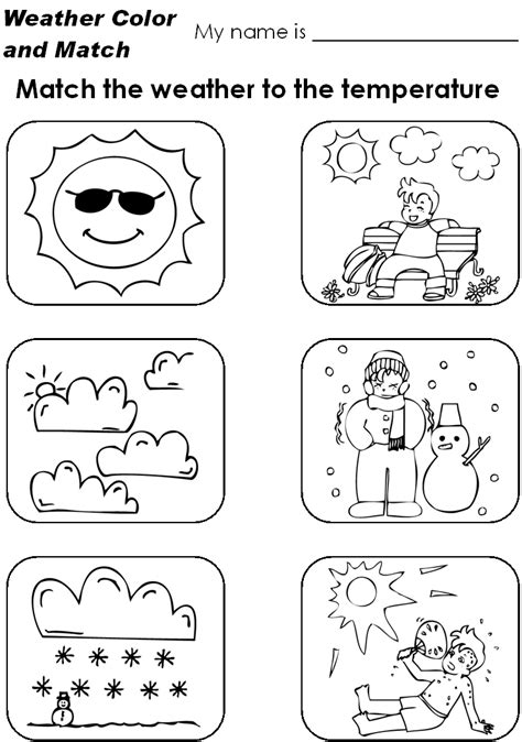 weather color weather symbols for coloring coloring pages