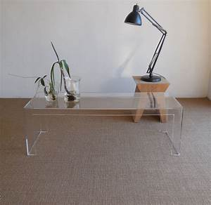 Kartell Invisible Side Coffee Table Design T Yoshioka