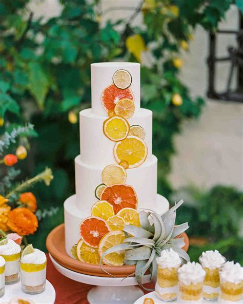 22 Summer Wedding Cakes That Speak To The Season Martha