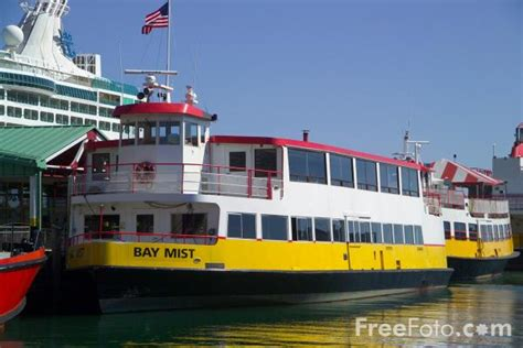 Casco Bay Lines Ferry, Portland, Maine, USA pictures, free ...