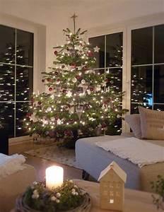 Geschmückte Weihnachtsbäume Christbaum Dekorieren : unser weihnachtsbaum weihnachten pinterest weihnachtsbaum weihnachten und baum ~ Markanthonyermac.com Haus und Dekorationen