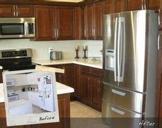 reface kitchen cabinets home depot kitchen with antique white shaker style cabinets crown 7696