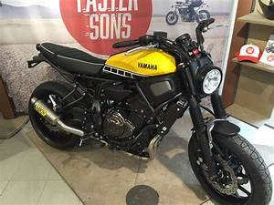 Yamaha Xsr 700 Occasion : yamaha xsr 700 scrambler 60 th sarl blanc motos ~ Medecine-chirurgie-esthetiques.com Avis de Voitures