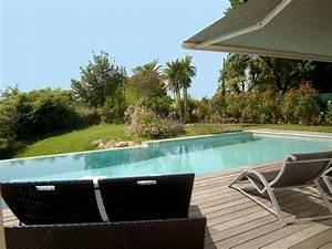 villa contemporaine de standing avec piscine vue mer et With location villa avec piscine cote d azur