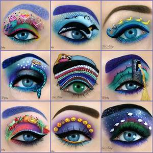 Augen Schminken Maskenbildnerin Tal Peleg Benutzt Das