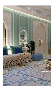 Arabic Majlis interior design in Dubai UAE | 2020 | Spazio