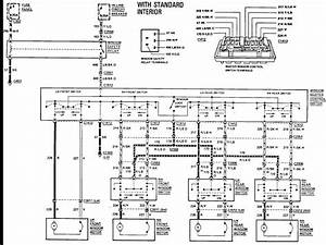 2004 Ford Crown Victoria Speedometer Wiring Diagram