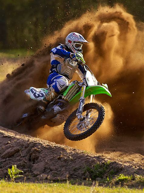 motocross bikes pictures rooster tail like a cut back on a board motocross