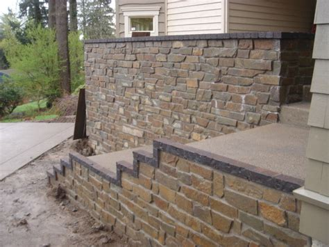 Natural Stone Veneer  Exterior  Traditional Exterior