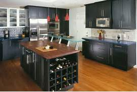 Black Kitchen Ideas Terrys Fabrics 39 S Blog Black Kitchen Cabinets Pictures Ideas Tips From HGTV HGTV One Color Fits Most Black Kitchen Cabinets Black Kitchen Cabinets Contemporary Kitchen Seattle By