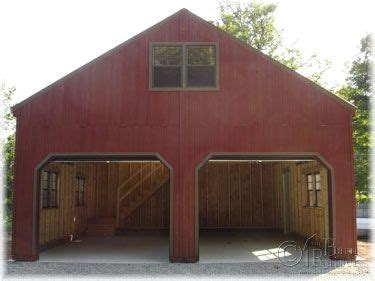 2 Story Garage Packages by 2 Story Wide Modular Garages And Sheds The Barn