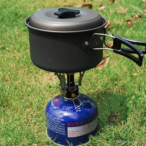 ultralight mini backpacking canister camp camping stove burner piezo ignition hot sale tent