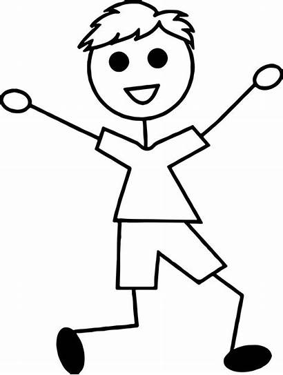 Stick Coloring Pages Boy Boys Fun Awesome