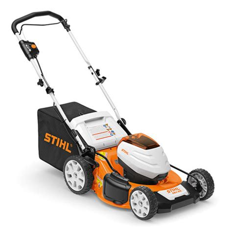 rma  battery lawnmower  working  larger areas