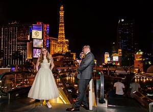retro wedding reception at the peppermill popography With las vegas wedding online