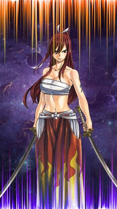 Erza Scarlet Zedge Fairy Wallpapers Tail Iphone