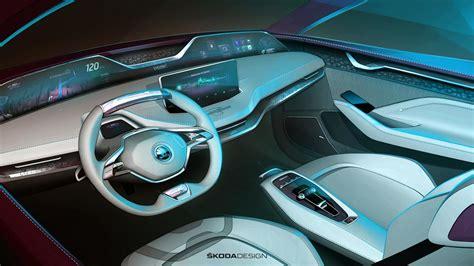 Skoda Vision E Concept Updated For Frankfurt