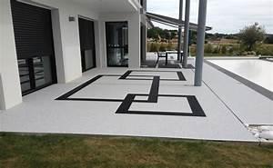 Resine Pour Terrasse Beton Exterieur : resine pour terrasse annecy pose agregat de marbre ~ Edinachiropracticcenter.com Idées de Décoration