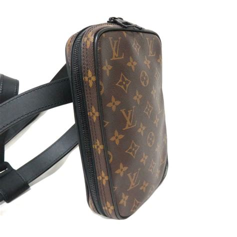 auth louis vuitton utility side body waist bag  monogram solar ray  ebay