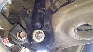 Hyundai Rear Shock Removal - Seized Bushing