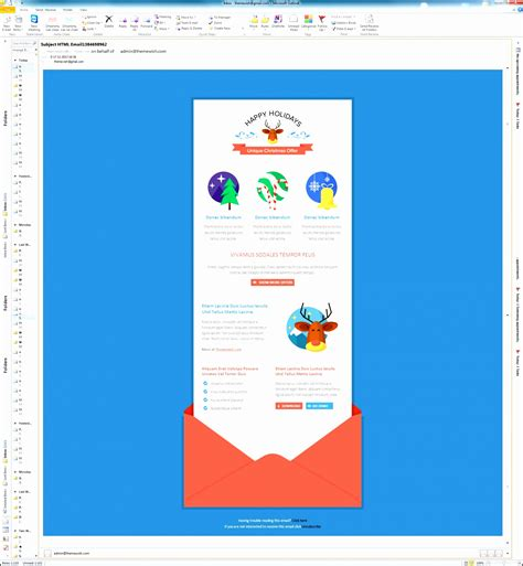 outlook newsletter template  excel sampletemplatess