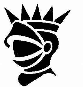 KNIGHT'S HELMET HAS POINTED CROWN,ALL SILHOUETTE by ...