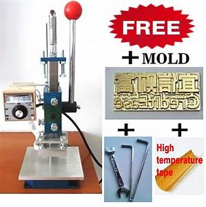 aliexpresscom buy manual hot foil embossing stamping With letter stamping press