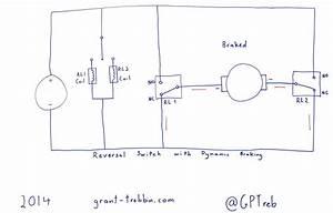 Grant Trebbin  12 Volt Reversal Switch With Dynamic Braking