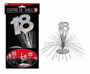 Deco Table 18 Ans : centre de table 18 ans accessoires de f te et d coration de table surprisez vous ~ Dallasstarsshop.com Idées de Décoration