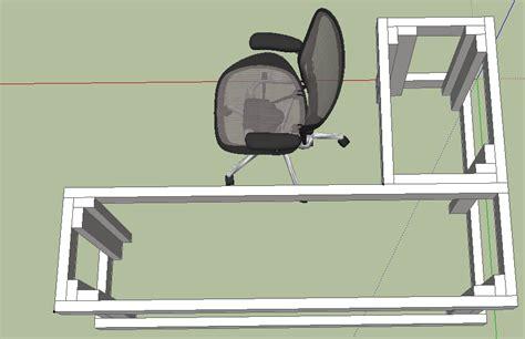 diy l shaped desk plans patric diy 4x8 shed plans