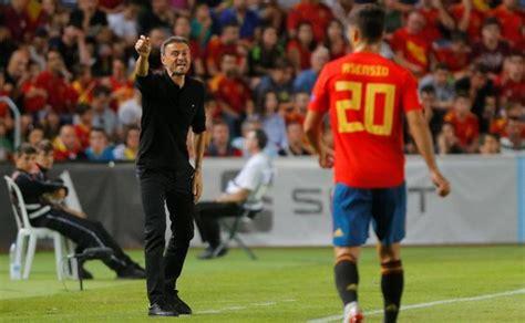 Luis Enrique 'muta' A España  Diario Sur