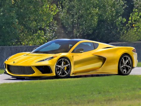 This Is The Best 2020 Mid-engine C8 Corvette Rendering So