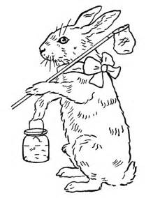jar wedding printable coloring page easter bunny the graphics fairy