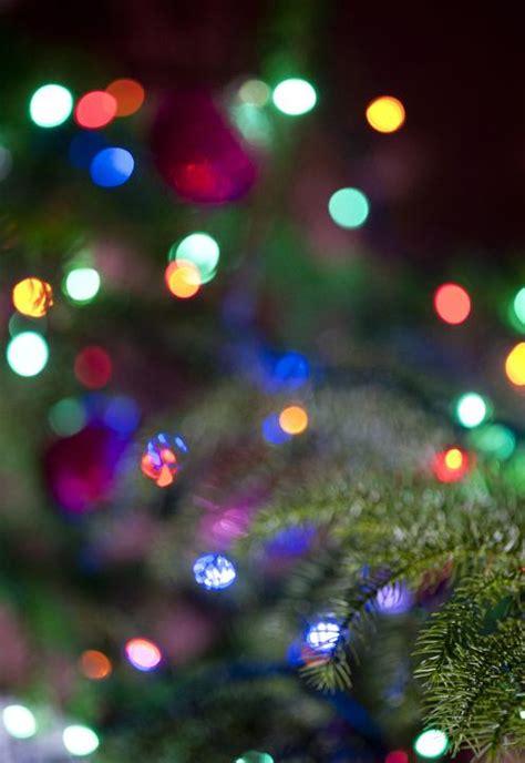 image  christmas lights background bokeh freebie