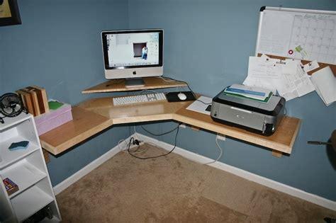 how to make a corner desk build wooden build your own corner desk plans download