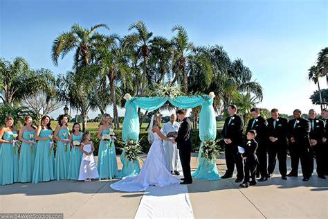 Tiffany Blue Wedding Reception Tiffany Blue Outdoor