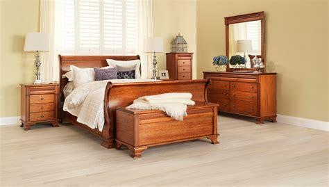 monet classic light wood grain bedroom furniture suite