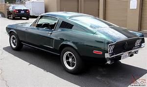 1968 Ford Mustang Fastback Bullitt Rotisserie Restored